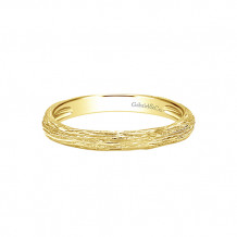 Gabriel & Co. 14k Yellow Gold Stackable Ladies' Ring - LR5648Y4JJJ