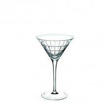 Christofle Giftware Crystal Graphik Crystal Martini Glass - 7945280