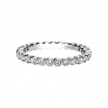 Gabriel & Co. Platinum Victorian Eternity Wedding Band - AN6037-4PT4JJ