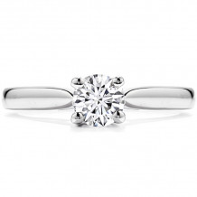 Hearts on Fire 18k White Gold Purely Bridal Diamond Solitaire Engagement Ring - MTR1254E8W