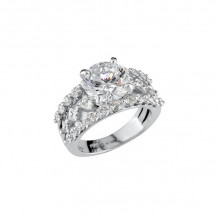 Peter Storm 18k White Gold Especially Naked Engagement Ring