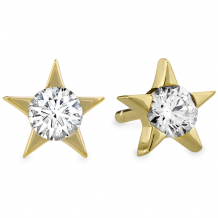 18k Gold Illa Diamond Stud Earrings