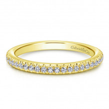 Gabriel & Co. 14k Yellow Gold Stackable Ring - LR4885Y45JJ