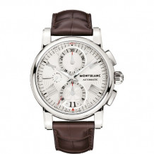 Mont Blanc Star Steel 44mm Automatic Watch