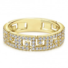 Gabriel & Co. 14k Yellow Gold Stackable Ring - LR51246Y45JJ
