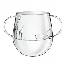 Christofle Giftware Silver Plated Savane Baby Cup - 4260635