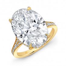 Rahaminov 18k Yellow Gold Diamond Ring