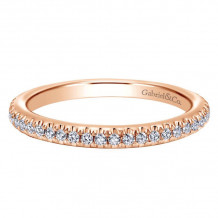 Gabriel & Co. Rose Gold Stackable Diamond Stackable Ring - LR4885K45JJ