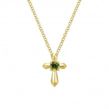 Gabriel & Co. 14K Yellow Gold Secret Garden Peridot Necklace NK1696Y4JPE