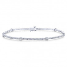 Gabriel & Co. 14k White Gold Lusso Diamond Bracelet - TB2399W44JJ