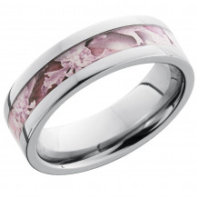 Lashbrook Titanium Camo Flat Wedding Band - 6F13_KINGSPINK