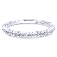 Gabriel & Co. 14k White Gold Stackable Ring - LR51171W45JJ