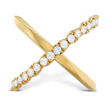 18k Gold Lorelei Criss Cross Ring