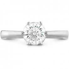 Hearts on Fire 18k White Gold Signature Diamond Solitaire Engagement Ring - HBSSIG00008WC-6P